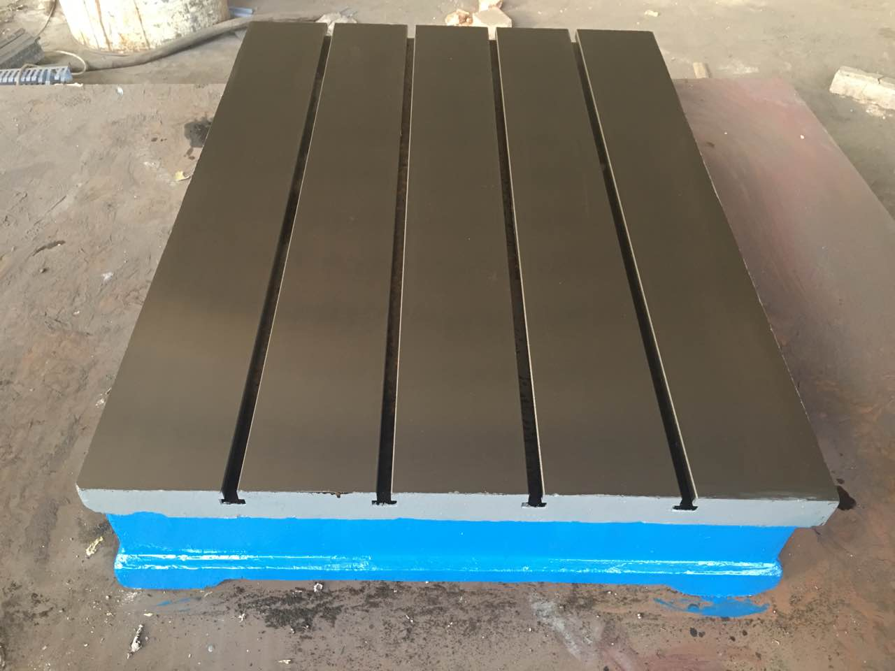 How to distinguish the quality of cast iron welding platform